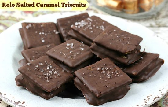 Salted Caramel Triscuits