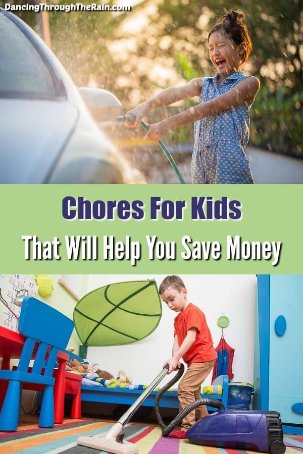 If you are looking for a list of chores for kids, there are some excellent options that will also save you money. come up with a chore chart and make the most of what both you and your kids can do!