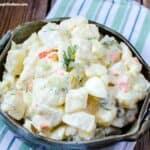 Dill Pickle Potato Egg Salad Recipe