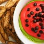 Watermelon Cheesecake Dip - A Fun Treat!