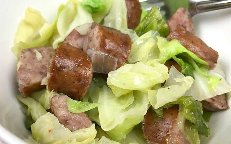 Cabbage And Sausage Skillet