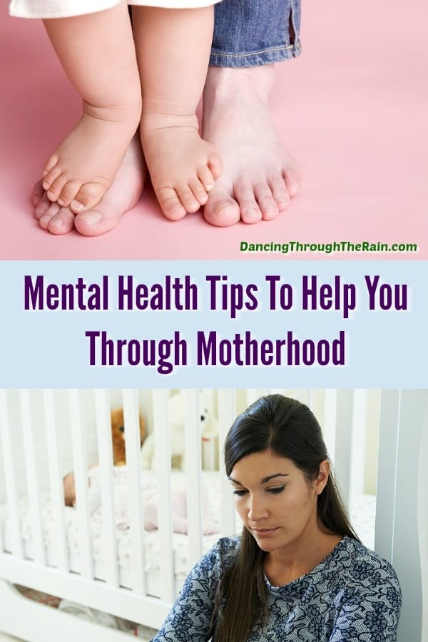 Being a mother is an amazing gift, but that doesn't mean that it isn't difficult. Hopefully these mental health tips will help you get through your toughest moments of motherhood.