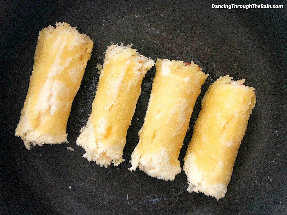 When trying to figure out how to make grilled cheese more interesting, look no further than these Pepperoni Rolls! With only four ingredients, this is one of those easy sandwich ideas that you'll keep coming back to!