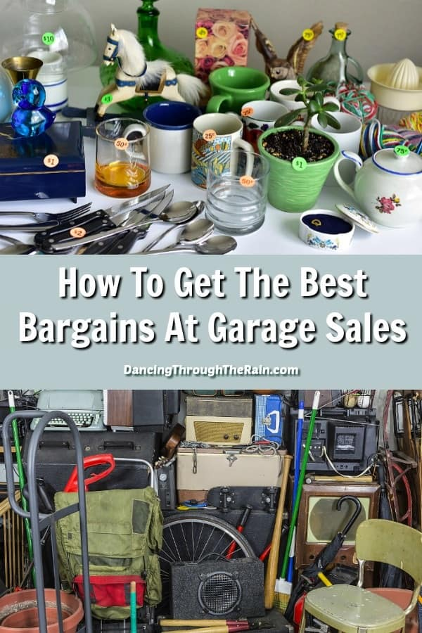 Summertime means garage sales! While garage sales are fun, there are always ways to get better bargains. Use these tips to help you make your money stretch even further.