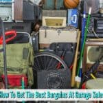 Garage Sales - How To Get The Best Bargains