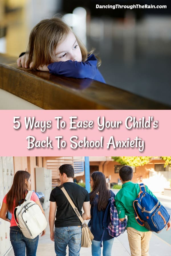 Student anxiety can become a real thing as the summer comes to a close. Here are some ways to ease that back to school anxiety and help your child get ready for a great new year.