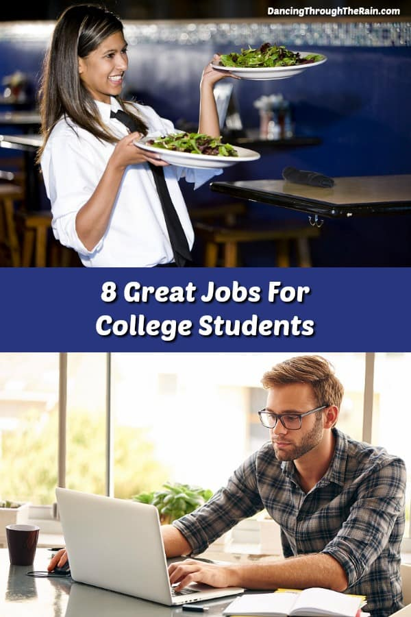 Looking for full and part time jobs for college students can be a bit daunting, but there are lots of ideas out there. Here is a list of great student jobs that will help get them ready for the next stage in life.