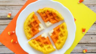 Halloween Breakfast Waffles