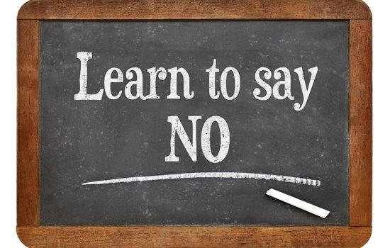 "When ""No"" Makes You Feel Guilty"