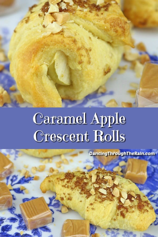 Try this spin on caramel apples with these Caramel Apple Crescent Rolls! A warm, gooey treat, this is one of the best apple desserts you'll have!