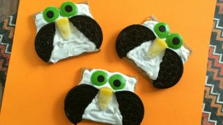 No-Bake Owl Cookies