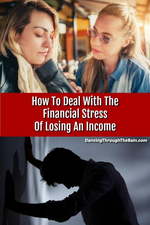 People dealing with financial stress
