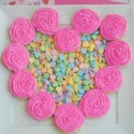 Heart-Shaped Cookie Wreath