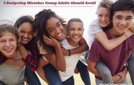 Six teenagers giving piggy back rides