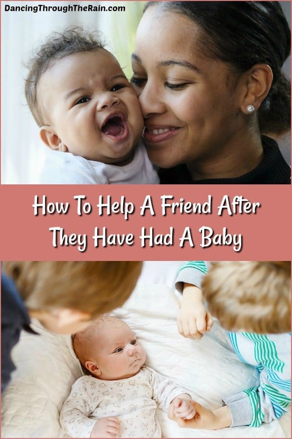 How To Help A Friend After They Have Had A Baby