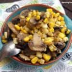 Mushroom And Corn Sauté