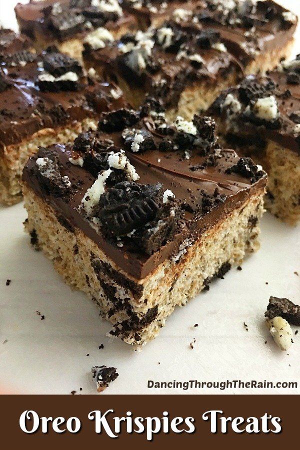 Oreo Rice Krisipe Treats