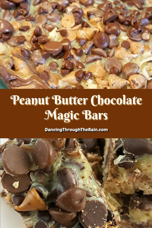 Peanut Butter Chocolate Magic Bars