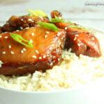 Easy Slow Cooker Mongolian Chicken