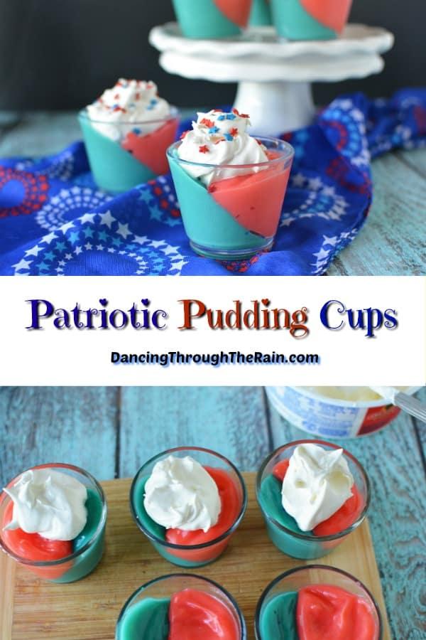 Patriotic Pudding Cups