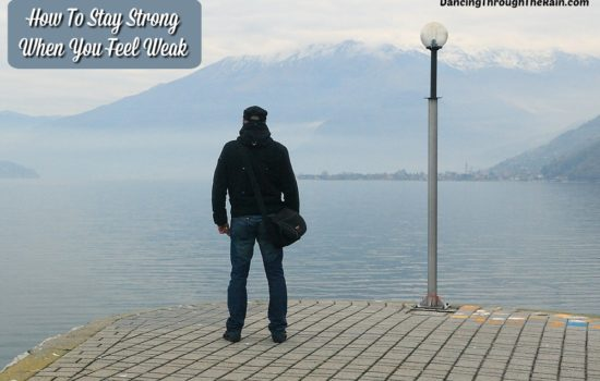 A man standing on a pier