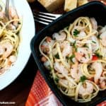 Seafood Lemon Garlic Pasta