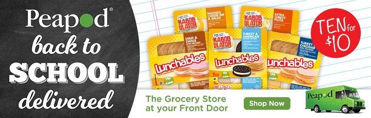 Lunchables At Peapod