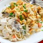 Tetrazzini Casserole With Leftover Turkey Or Chicken