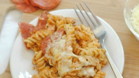 Pepperoni Pasta Bake