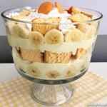 Easy Banana Pudding Trifle