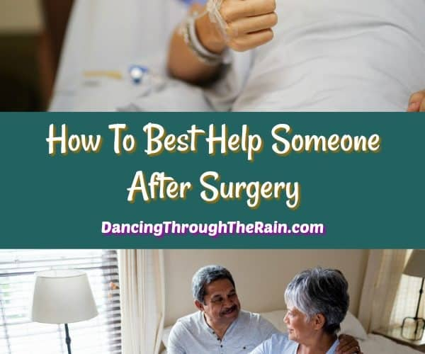 People recovering after surgery