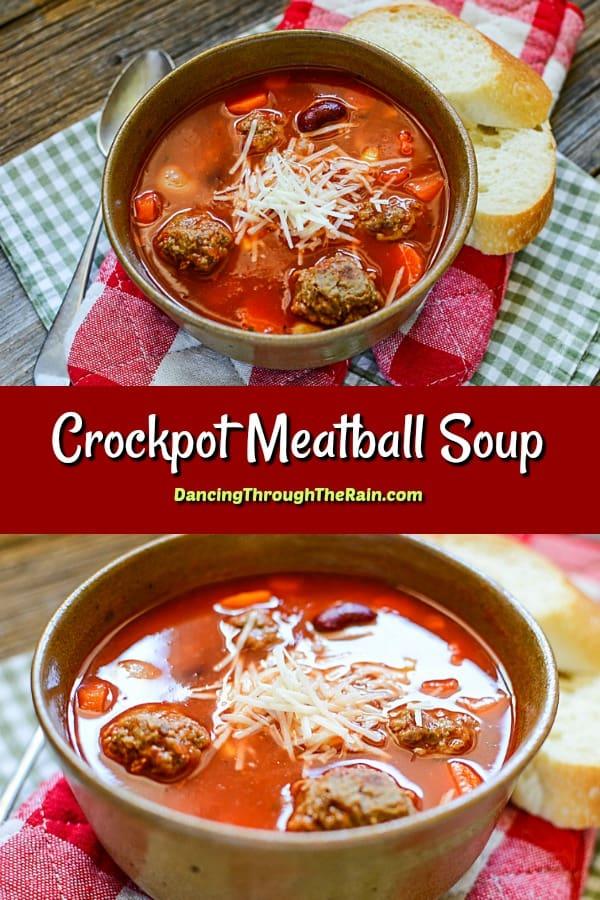 Crockpot Meatball Soup