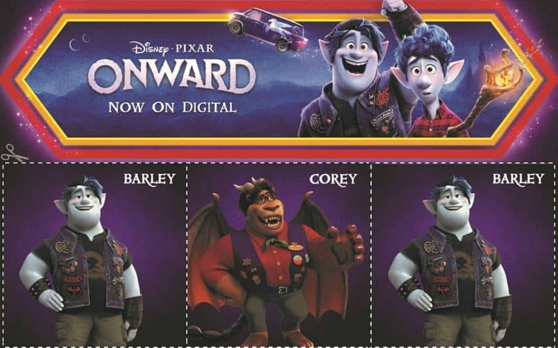 Images from Disney Pixar Onward movie